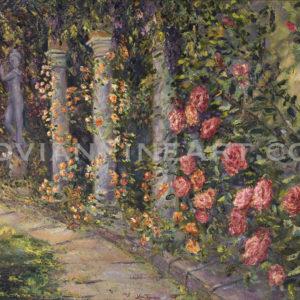 Spiral Rose Garden, 2004_sm